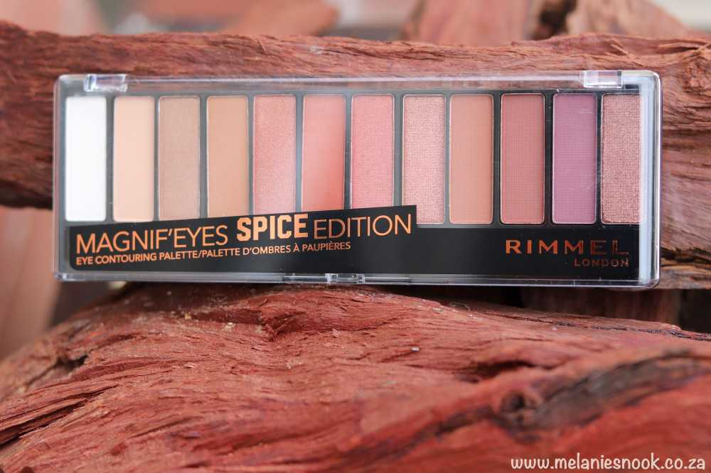 Rimmel London Magnifi'eyes Spice Edition Cover