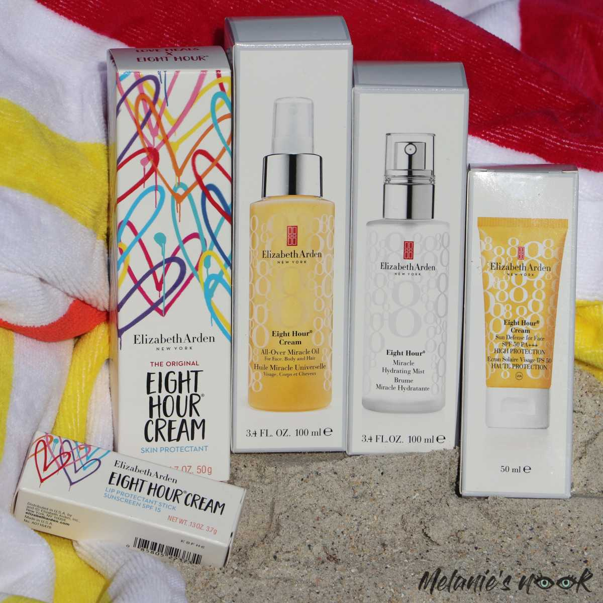 Elizabeth Arden 8 Hour Power Squad. - Cover