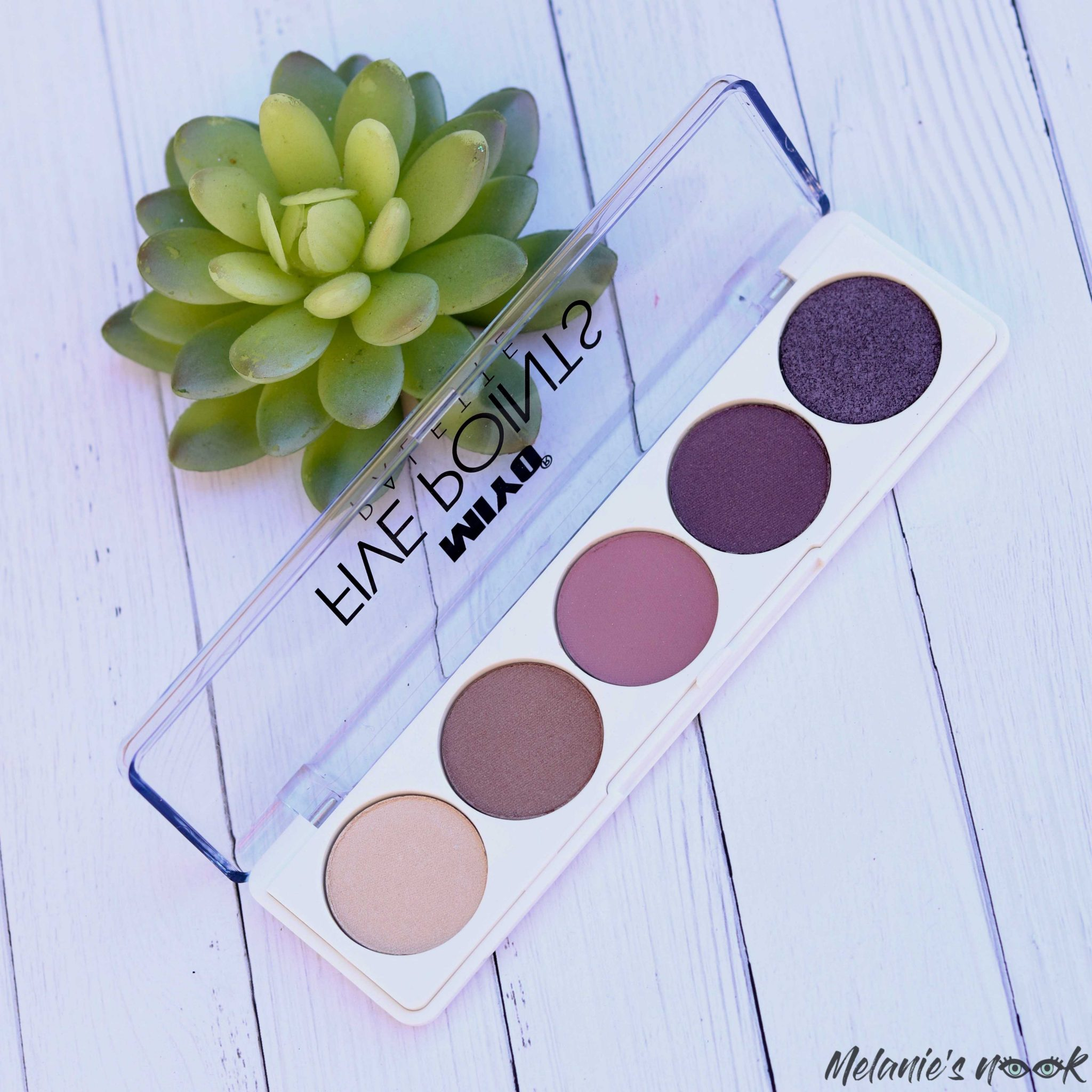 New in Beauty - February 2020 Miyo 5 Points Palette